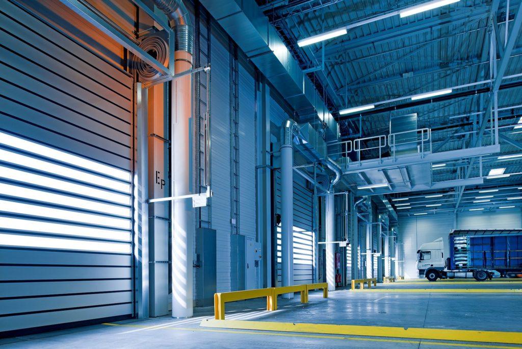 Elanvändning i fabriker och lagerlokaler