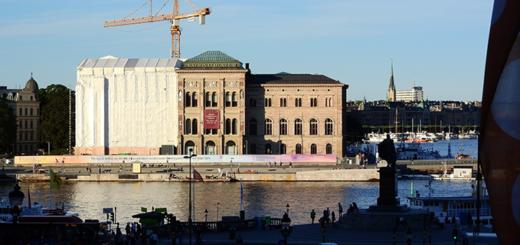 Nationalmuseum under renoveringen