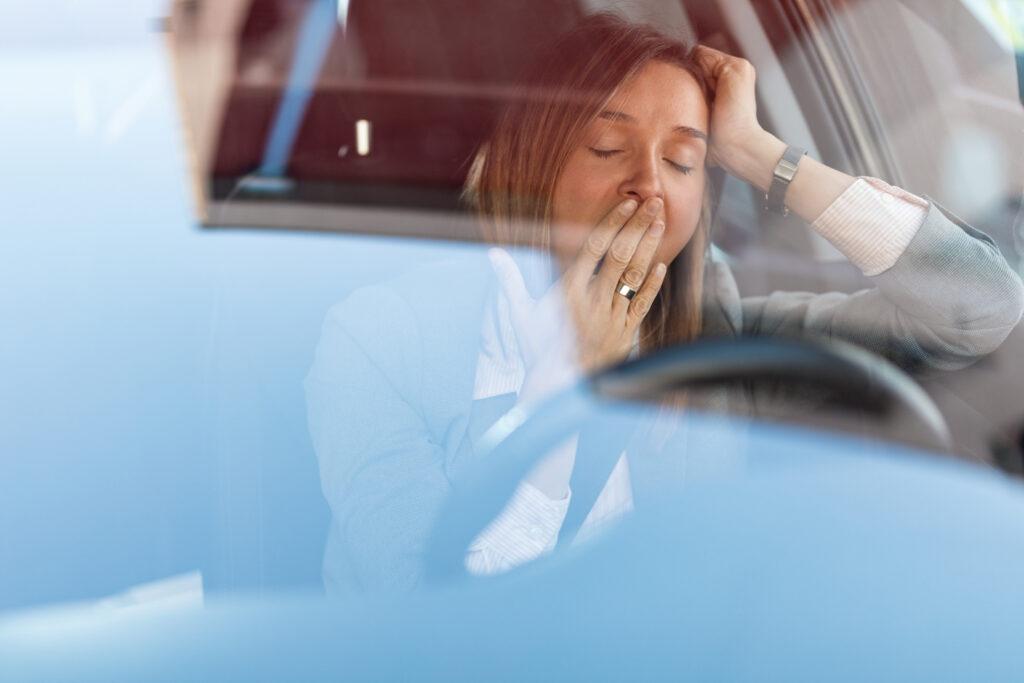 Hög koldioxidhalt – en anledning till trötthet bakom ratten