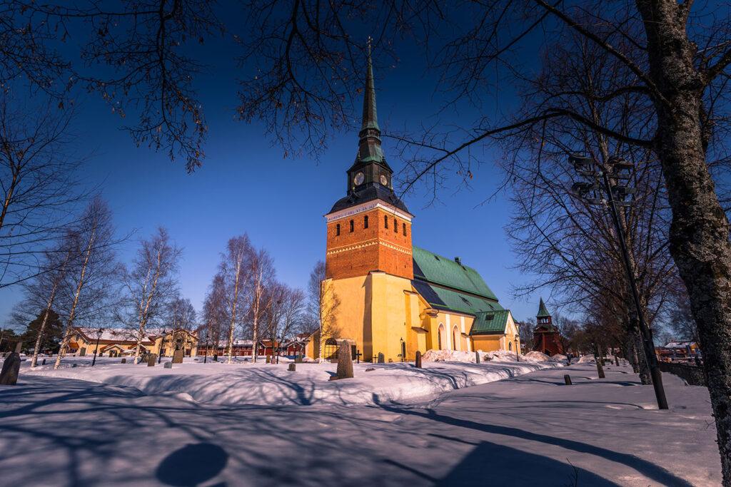 uppvärmning skadar kyrkan