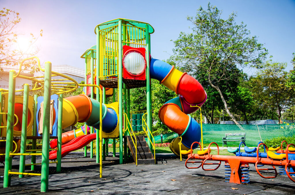 3 saker att tänka på gällande lekplatsers säkerhet